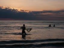Pesca do caranguejo no Mar do Norte foto de stock royalty free