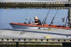 Pesca do ` de Goin Imagens de Stock