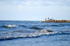 Pesca do divertimento Fotos de Stock Royalty Free