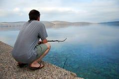 Pesca do feriado Imagens de Stock