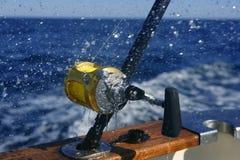 Pesca do obat do grande jogo no mar profundo Imagem de Stock Royalty Free