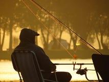 Pesca do pescador Imagens de Stock