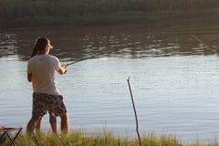 Pesca do verão Fotografia de Stock Royalty Free
