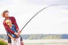 Pesca el fin de semana Fotografía de archivo