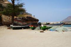 Pesca em África Foto de Stock
