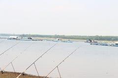 Pesca em Lam Pao Fotografia de Stock