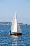 Pesca en un barco Imagen de archivo