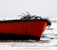 Pesca estacionada em torno do seawater Imagem de Stock Royalty Free