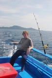 Pesca ida Imagen de archivo libre de regalías