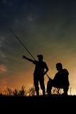 Pesca ida Fotografia de Stock