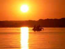 Pesca ida Imagenes de archivo