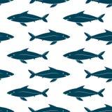 Pesca il reticolo senza giunte Immagini Stock