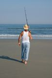 Pesca indo Imagem de Stock