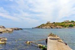 Pesca litoral Fotografia de Stock