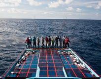 Pesca maldiva tradicional imagem de stock royalty free