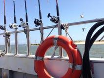 Pesca marittima Fotografie Stock Libere da Diritti