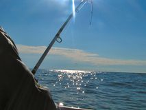 Pesca marittima profonda 2 Immagini Stock