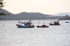 Pesca na província de Chonburi, Tailândia Fotos de Stock