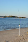 Pesca na sapata Imagens de Stock Royalty Free
