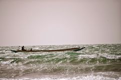 Pesca no Atlântico Foto de Stock Royalty Free
