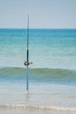 Pesca pólo da ressaca Imagem de Stock Royalty Free