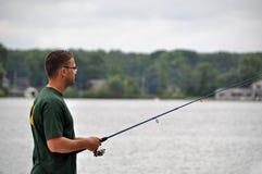 Pesca pacifica Immagini Stock