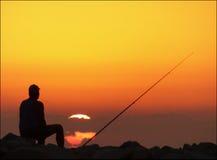 Pesca para el desayuno Imagen de archivo libre de regalías