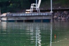 Pesca pigra di mattina Immagini Stock Libere da Diritti