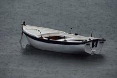 Pesca piovosa fotografia stock