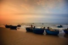 Pesca por um dia novo Fotografia de Stock