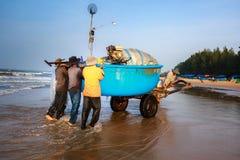Pesca por un nuevo día imagen de archivo libre de regalías