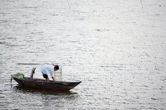 Pesca professionale Vietnam fotografia stock libera da diritti