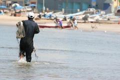 Pesca que va imagenes de archivo