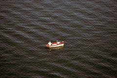 Pesca relajada Imagen de archivo libre de regalías