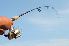 Pesca Rod Imagenes de archivo