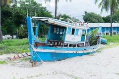 Pesca velha do barco Foto de Stock