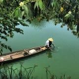 Pesca vietnamiana Imagem de Stock Royalty Free