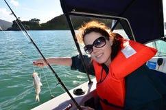 Pesca - Watersport fotografie stock libere da diritti