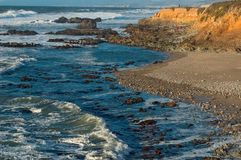 Pescadero Beach Stock Photo