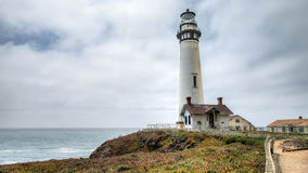 Free PESCADERO, CALIFORNIA, UNITED STATES - September 02, 2014: Lighthouse At Pigeon Point, Coastal Highway 1 San Francisco To Los Ange Stock Photography - 85283772