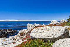 Pescadero Point at 17 Mile Drive in Big Sur California Stock Photo