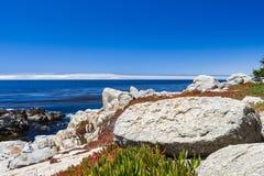 Pescadero punkt på 17 mil drev i stora Sur Kalifornien Arkivfoto