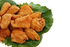 Pescado frito con patatas fritas. Imágenes de archivo libres de regalías