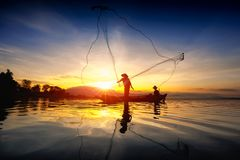 Pescador Imagen de archivo