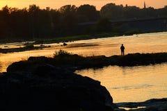 Pescador 2 Foto de archivo