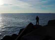 Pescador Fotografía de archivo