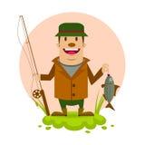 Pescador Imagem de Stock
