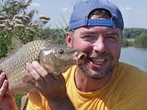 Pescador imagen de archivo libre de regalías