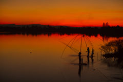 Pescador Foto de Stock