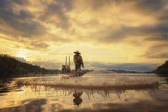 Pescador Foto de archivo libre de regalías